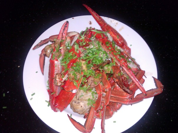 My Black Pepper Chilli Crab