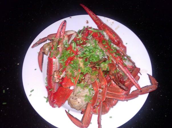 My Black Pepper Chilli Crab